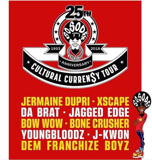 Jermaine Dupri Announces So So Def Anniversary Tour