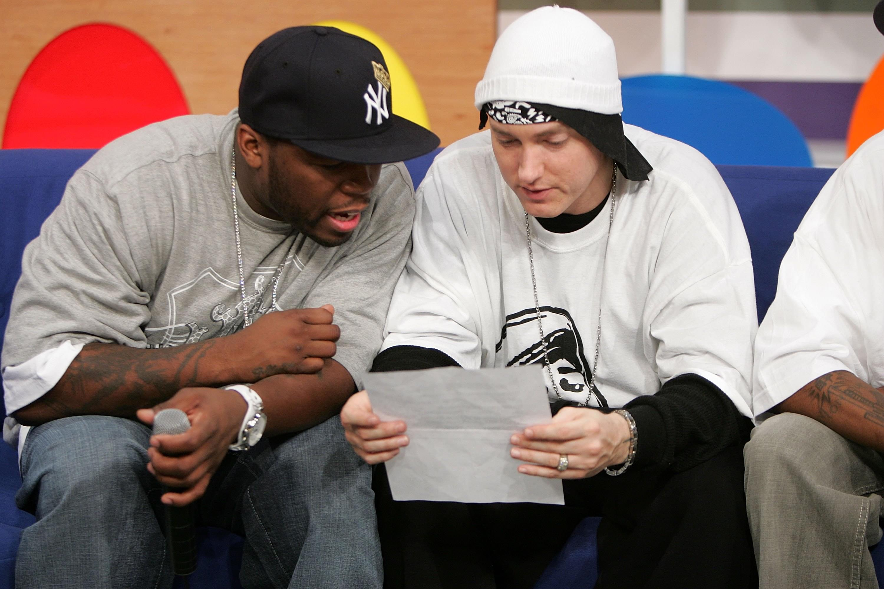 50 Cent Reportedly Has New Music With Eminem On The Way