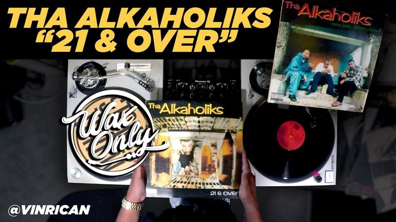 #WAXONLY: Vin Rican Showcases Classic Samples On Tha Alkaholiks' '21 & Over' Debut [WATCH]