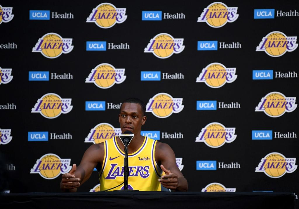 Lakers Will Reportedly Start Rajon Rondo At Beginning Of The Season