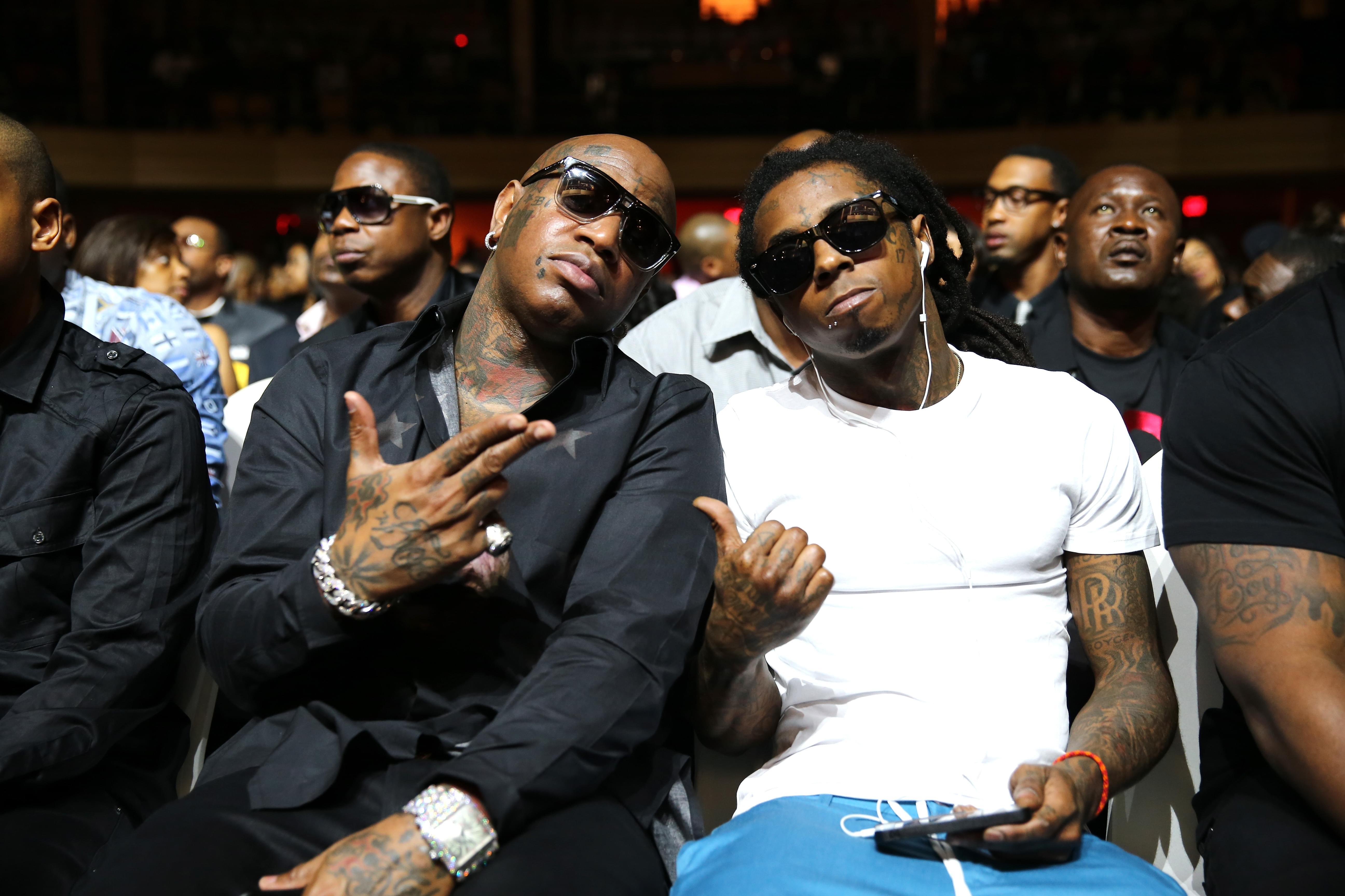 """Birdman Calls Lil Wayne The """"King Of Hip-Hop"""""""