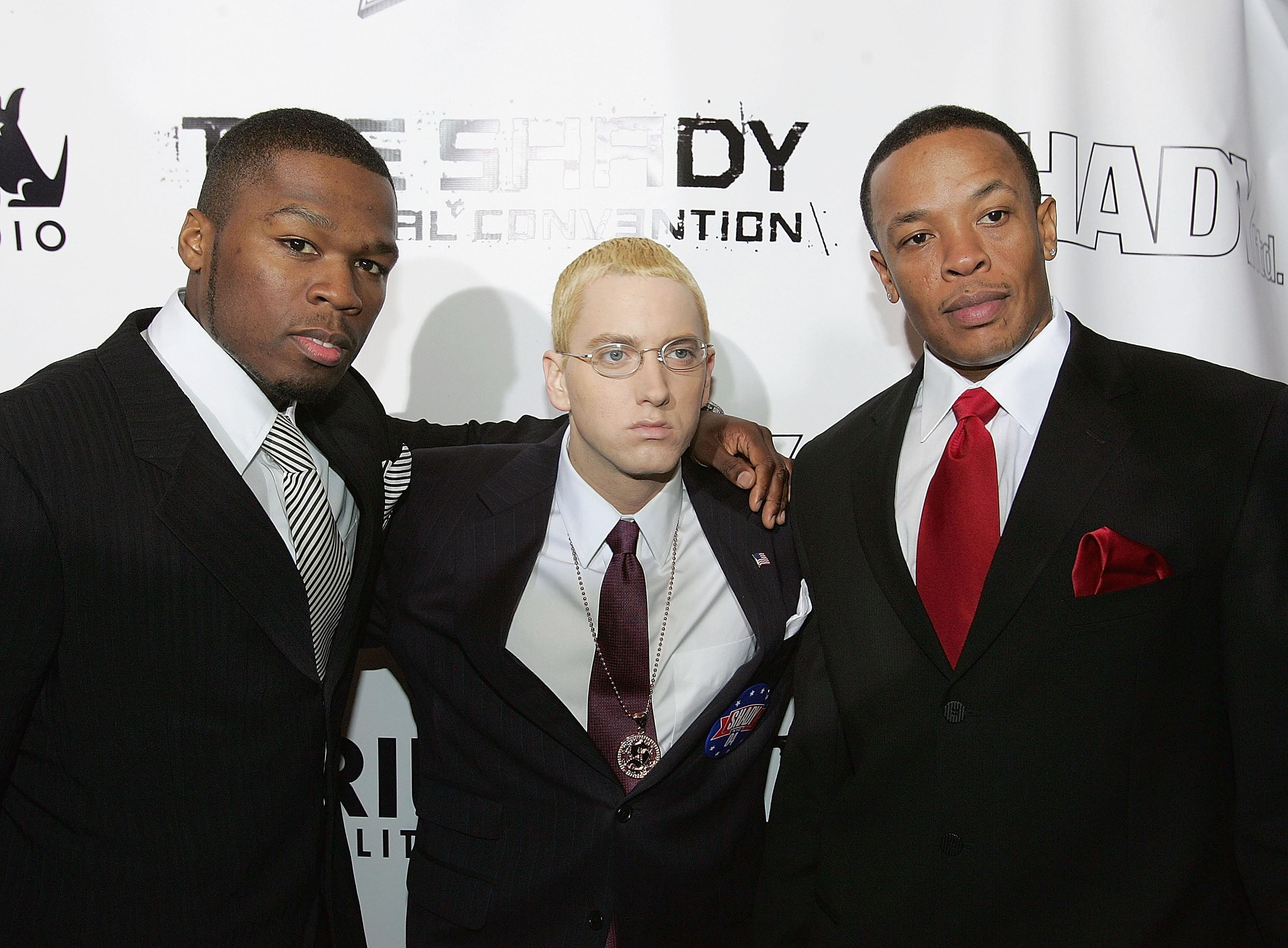 Dr. Dre, Eminem & 50 Cent Are Rumored To Be Working Together