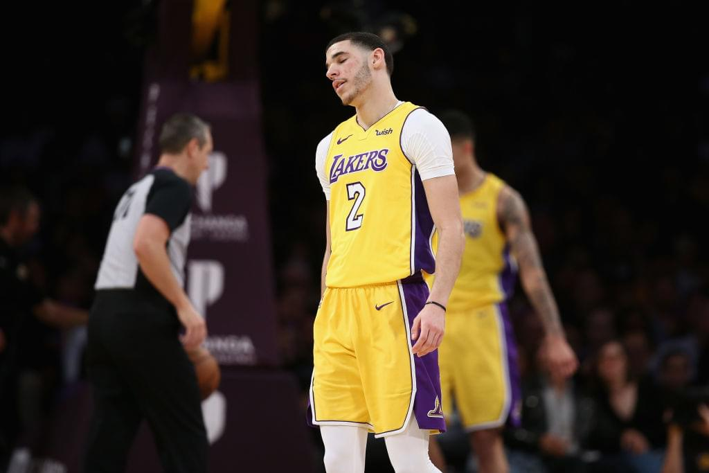 Lonzo Ball Forced To Cover Up Big Baller Brand Tattoo Due To NBA Rules