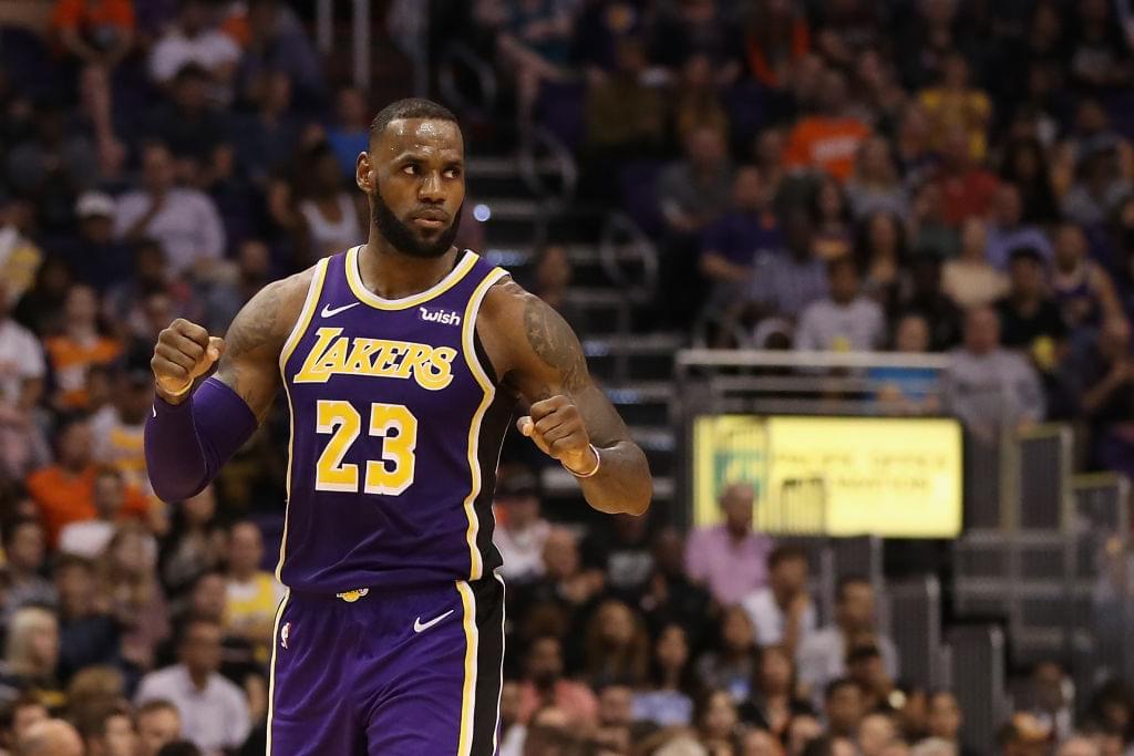 "LeBron James' ""Shut Up & Dribble"" Film Will Highlight The History Of Sports & Politics"