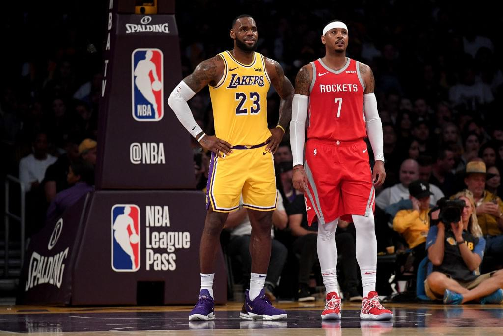 LeBron James Reportedly Wants Carmelo Anthony To Join Lakers