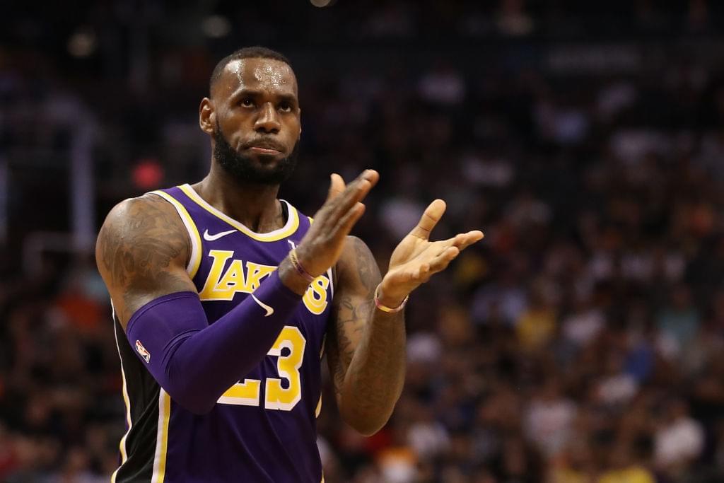 LeBron James Set To Return To Lakers Practice Next Week