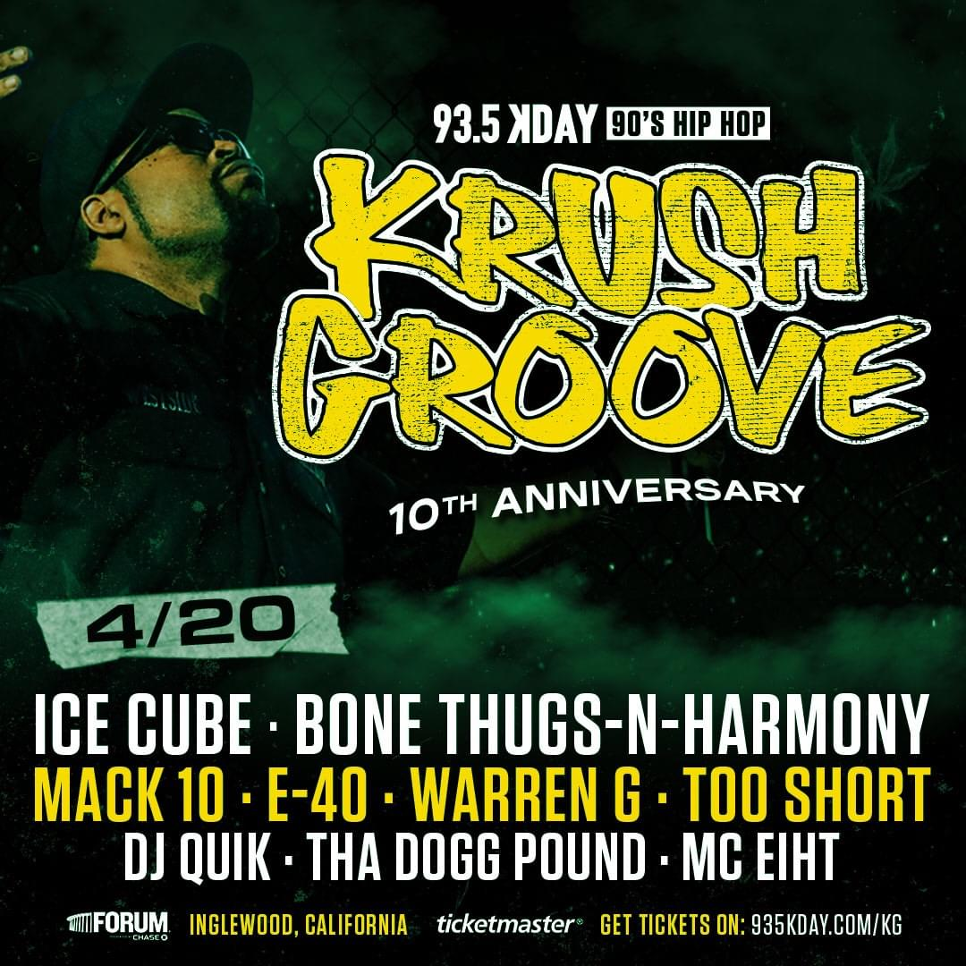 Are You Ready For Krush Groove 2019?
