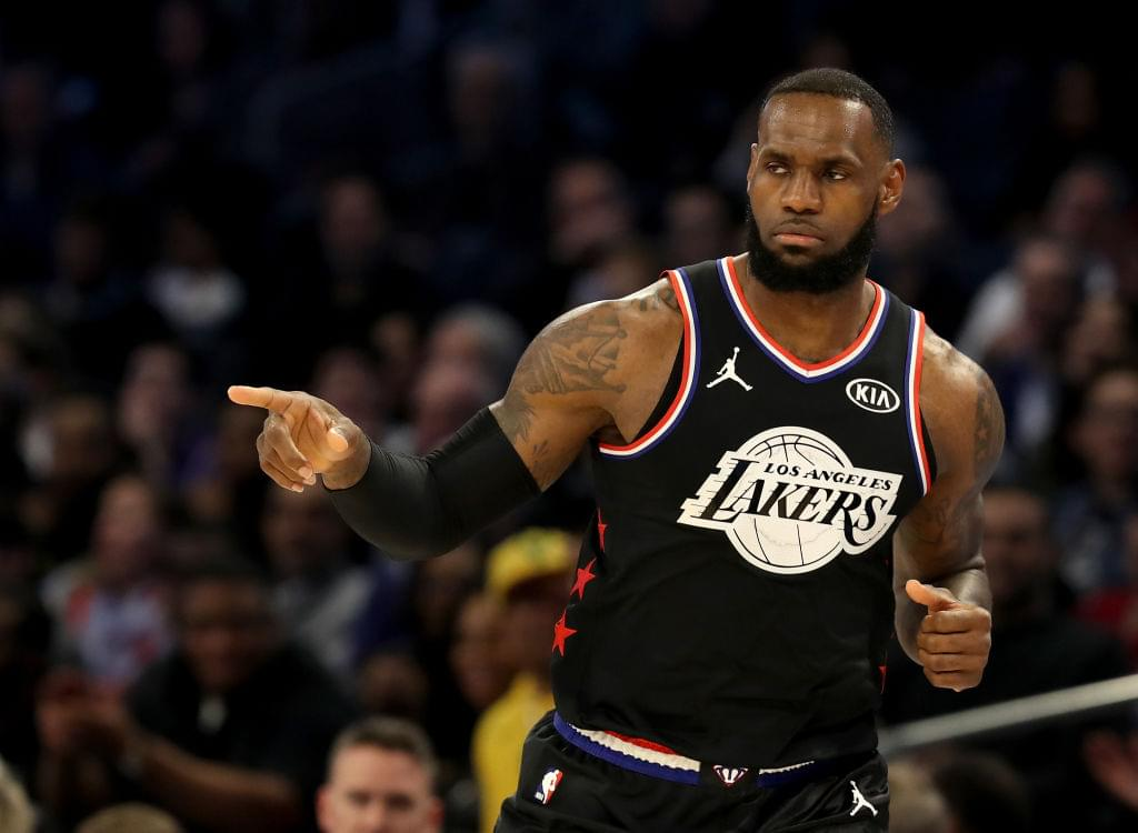 LeBron James Says it's Time for the Lakers to Step Up