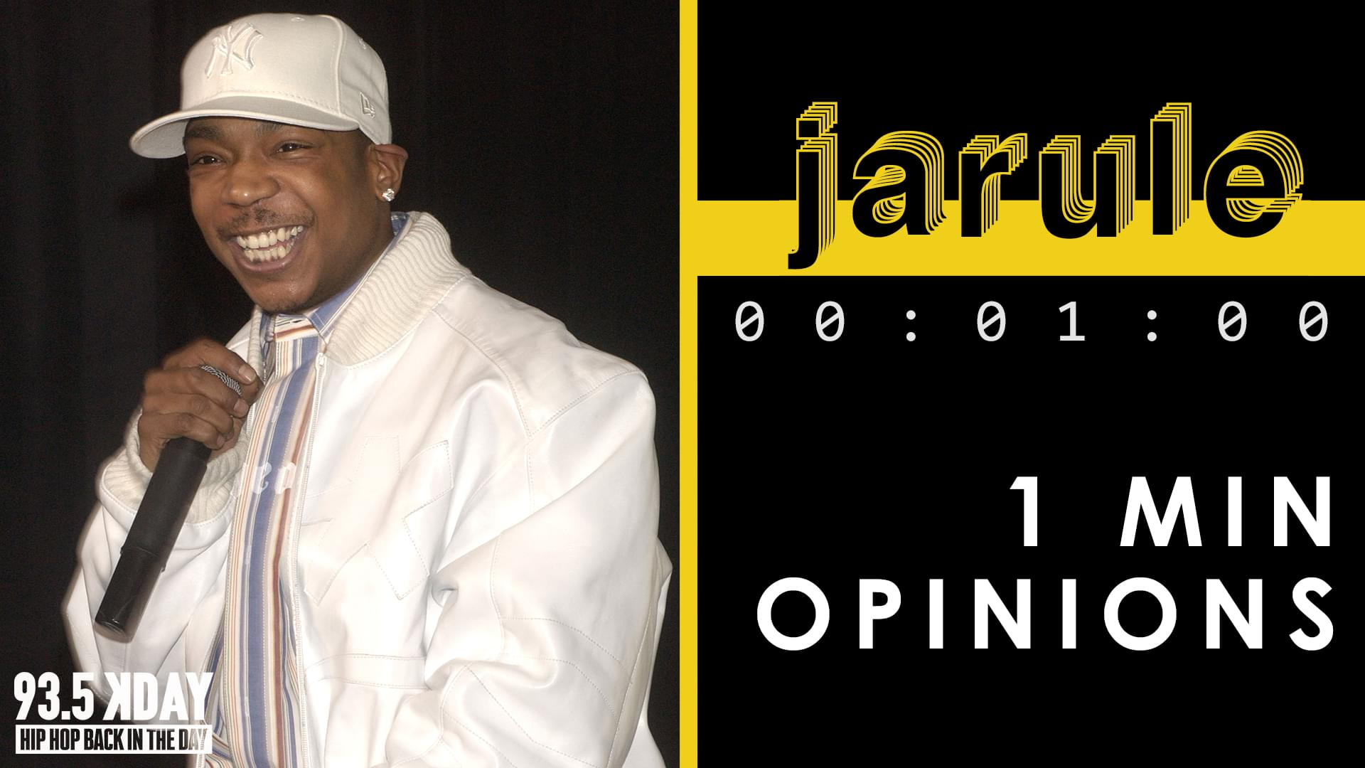 KDAY DJ's Share Their '1 Minute Opinions' On Ja Rule