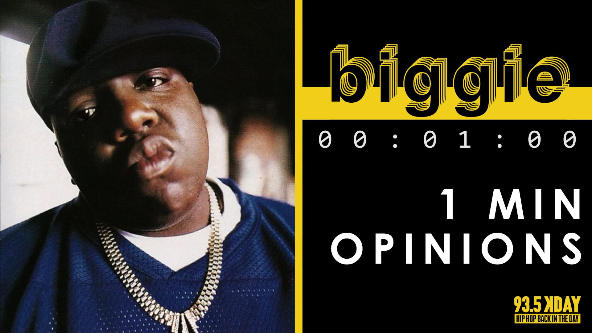 KDAY DJ's Share Their '1 Minute Opinions' On Biggie Smalls [WATCH]