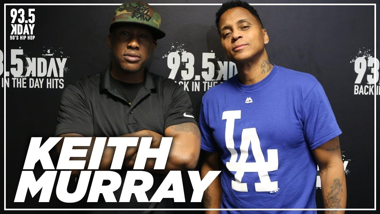 Keith Murray On New Album Prod. By Erick Sermon And West Coast Artist That Inspired Him
