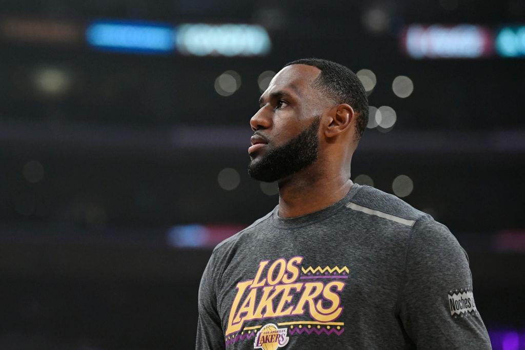 """LeBron James Will Reportedly Skip FIBA World Cup To Film """"Space Jam 2"""""""
