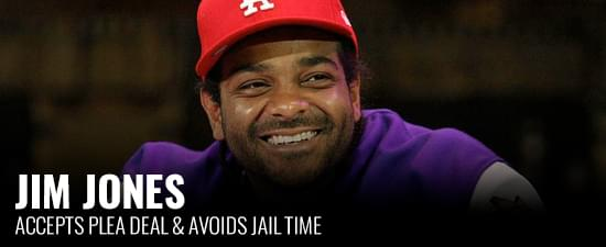 Jim Jones Accepts Plea Deal & Avoids Jail Time