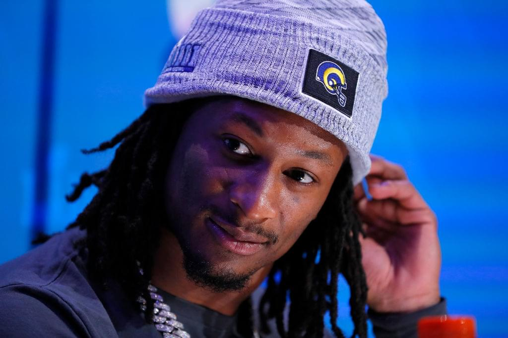 """Todd Gurley Offers Knee Injury Update: """"It's Feeling Pretty Good"""""""