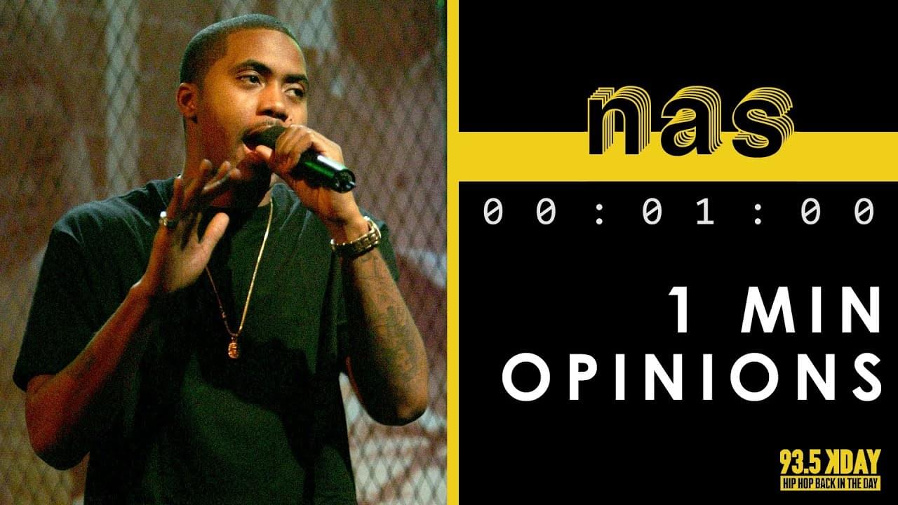 KDAY Host's Share Their '1 Minute Opinions' On Nas [WATCH]
