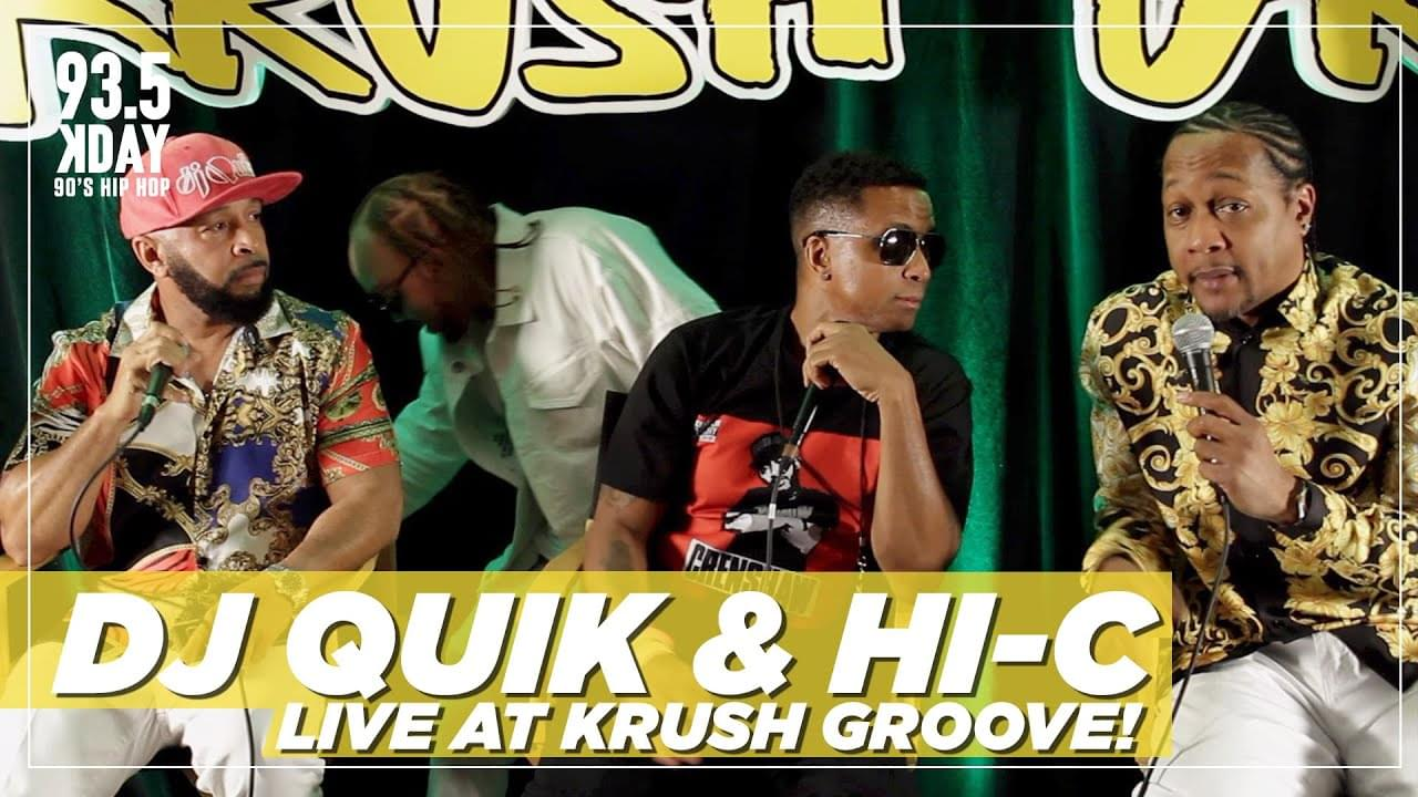 "Dj Quik Reveals The Key To Success & Says #KrushGroove Is Everyone's ""Victory Lap"""