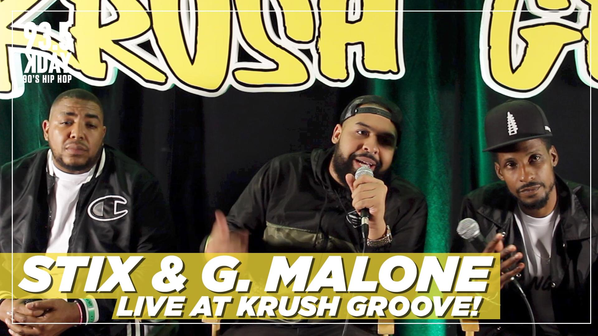 STIX & Glasses Malone Talk Relationship w/ Nipsey Hussle And Favorite Krush Groove Moment