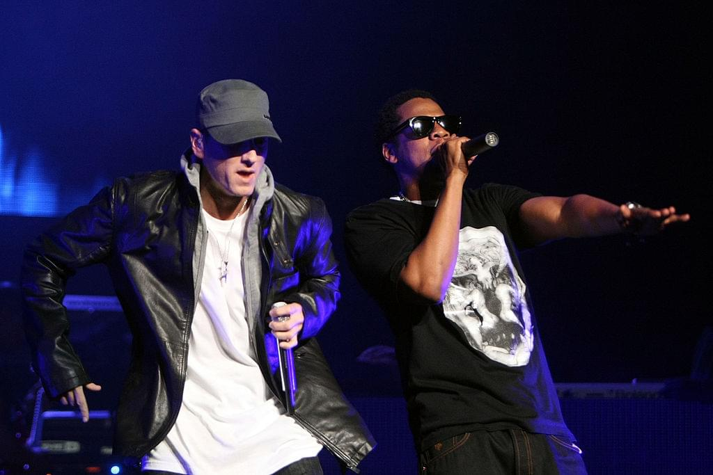 Eminem Ties With Jay-Z For Third Most Top 10 Hits by a Rapper