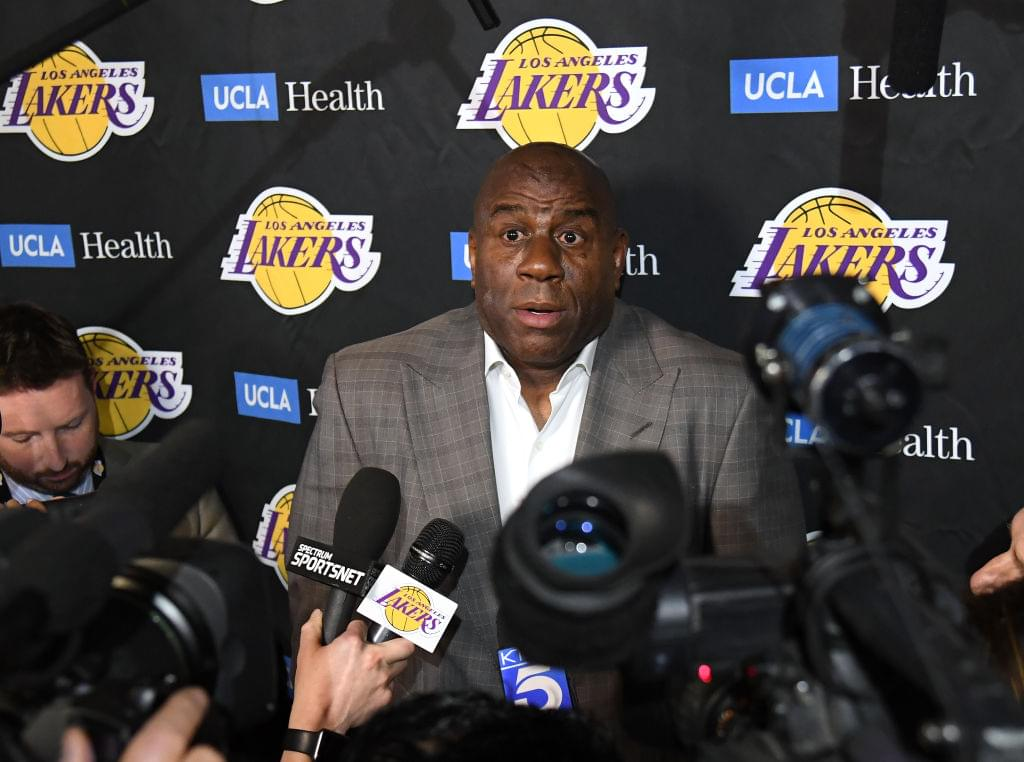 Magic Johnson Says LeBron James Will Bring Lakers A Title
