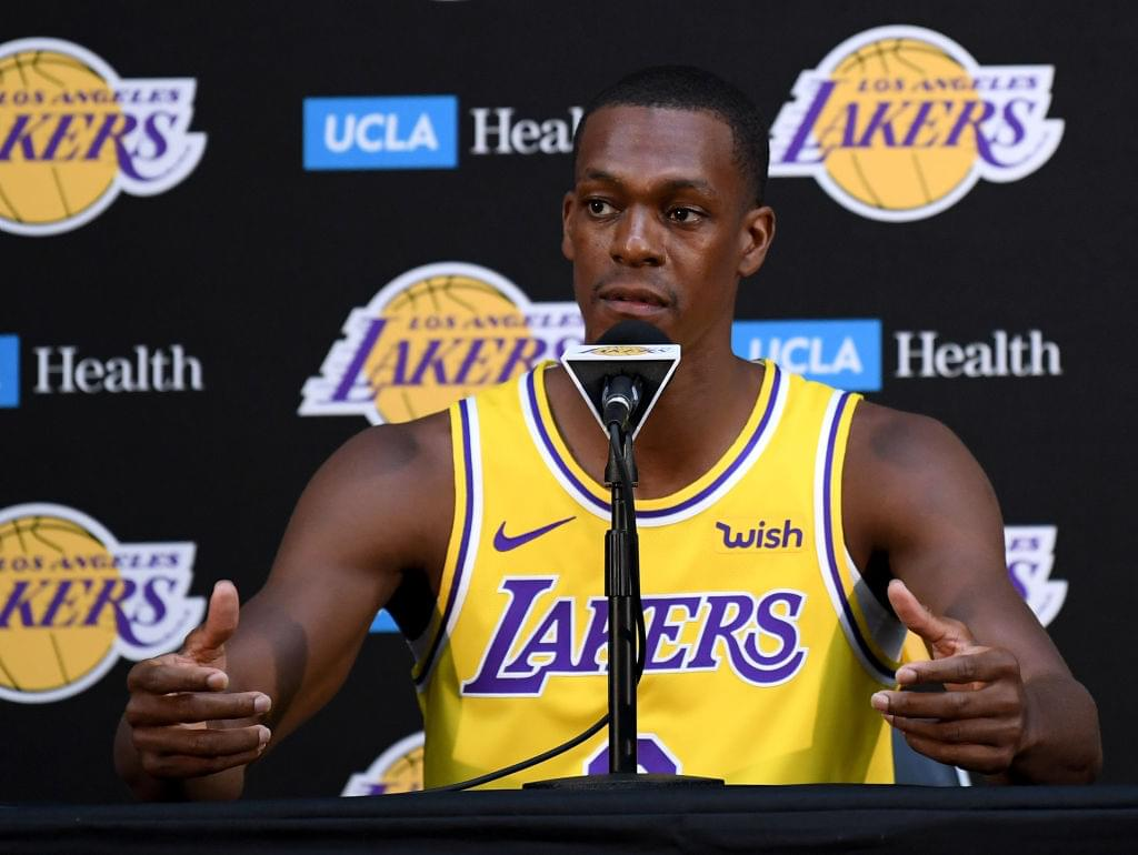 Rajon Rondo Explains How Trade Rumors Affected Young Lakers' Players