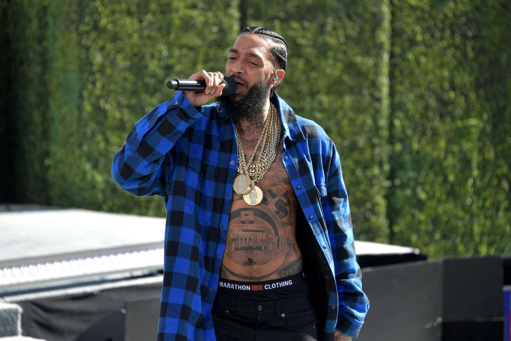 "Nipsey Hussle Was Favorite To Play Snoop Dogg In 2Pac's ""All Eyez On Me"" Biopic"