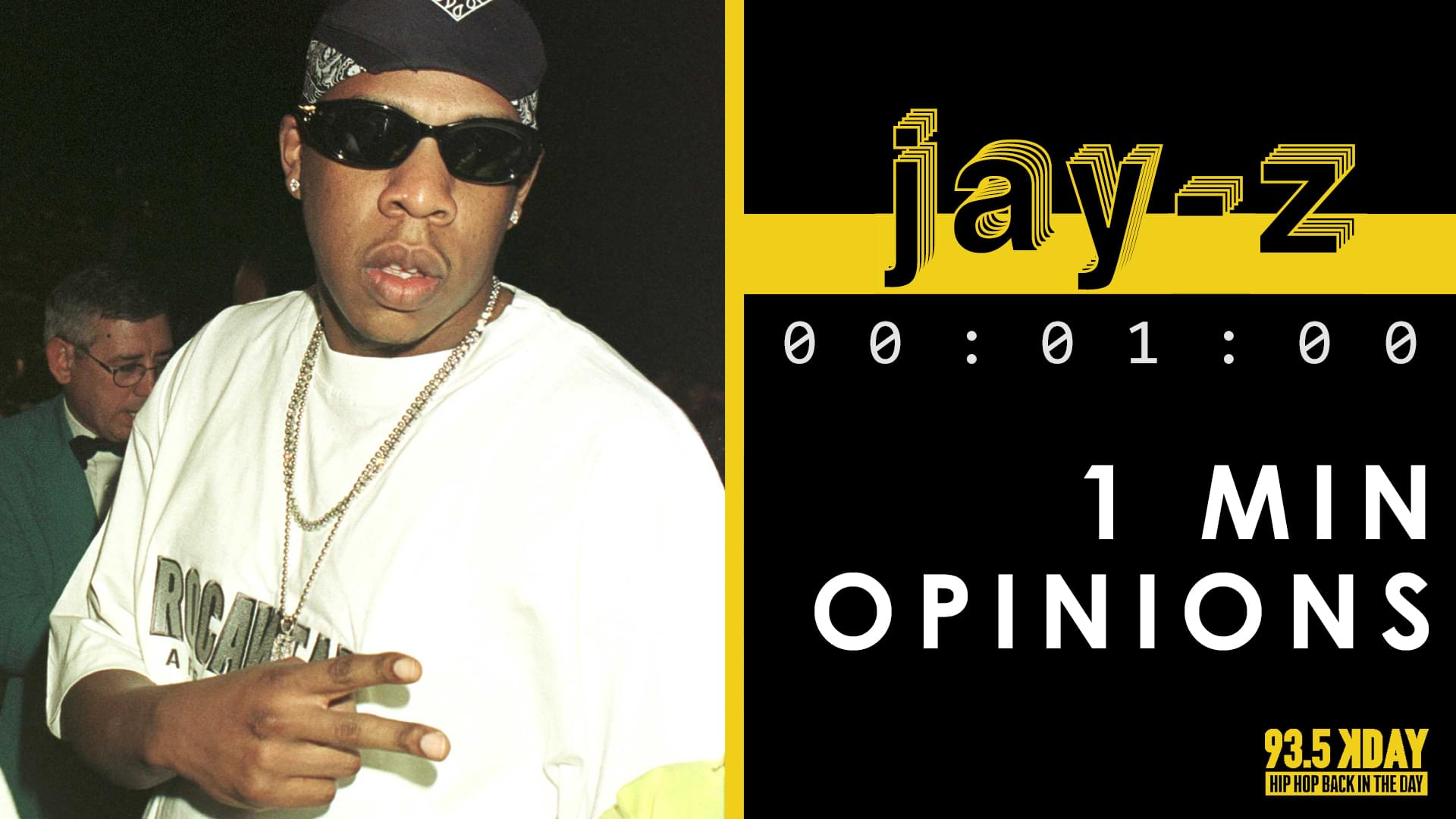 KDAY Hosts Share Their '1 Minute Opinions' On Jay-Z