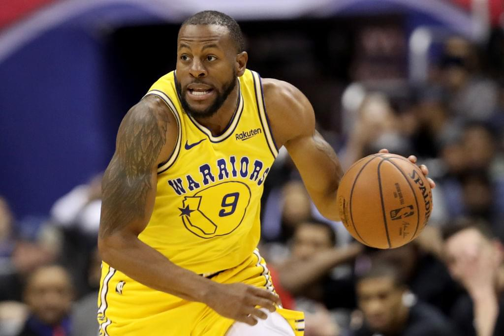 Warriors Will Reportedly Retire Andre Iguodala's Jersey