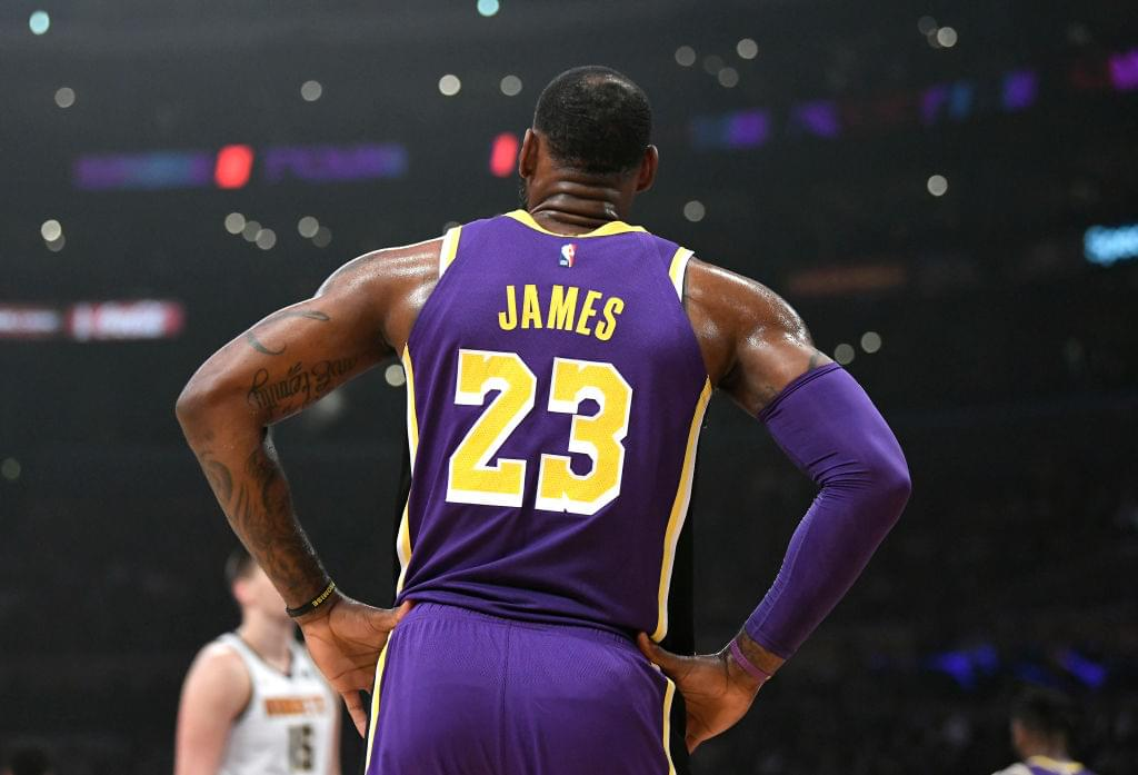 LeBron James Set To Start At Point Guard For Lakers