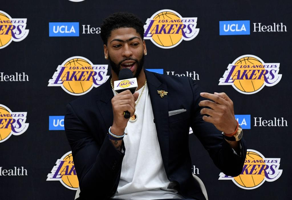 """Anthony Davis Says He Would Put Lakers' Roster """"Up Against Anybody"""""""