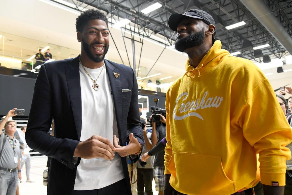 LeBron James & Anthony Davis Among Several Favorites To Win NBA MVP Trophy