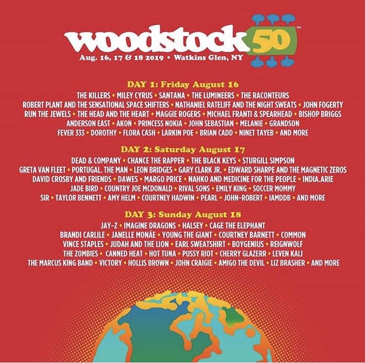 Woodstock 50 Festival Officially Canceled