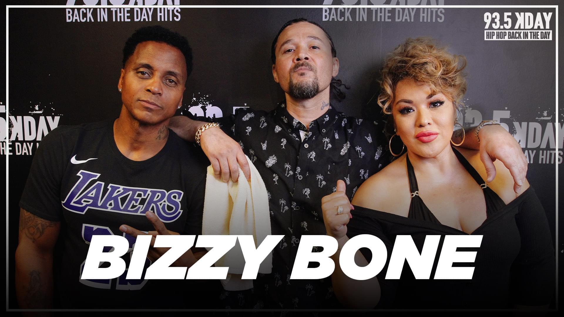 "Bizzy Bone Reflects On Eazy-E, Talks YouTube Vlog + His Son ""Lil Bizzy"" Making Music"