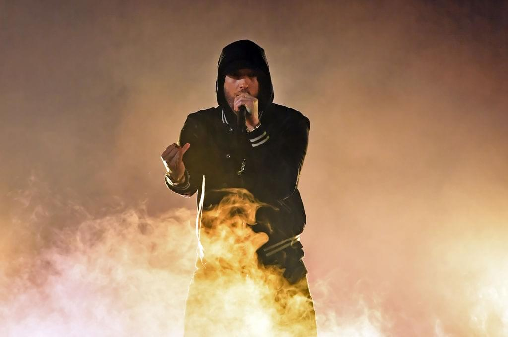 "Eminem Sends Out Cryptic Message: ""People think they want this problem 'til they get it."""