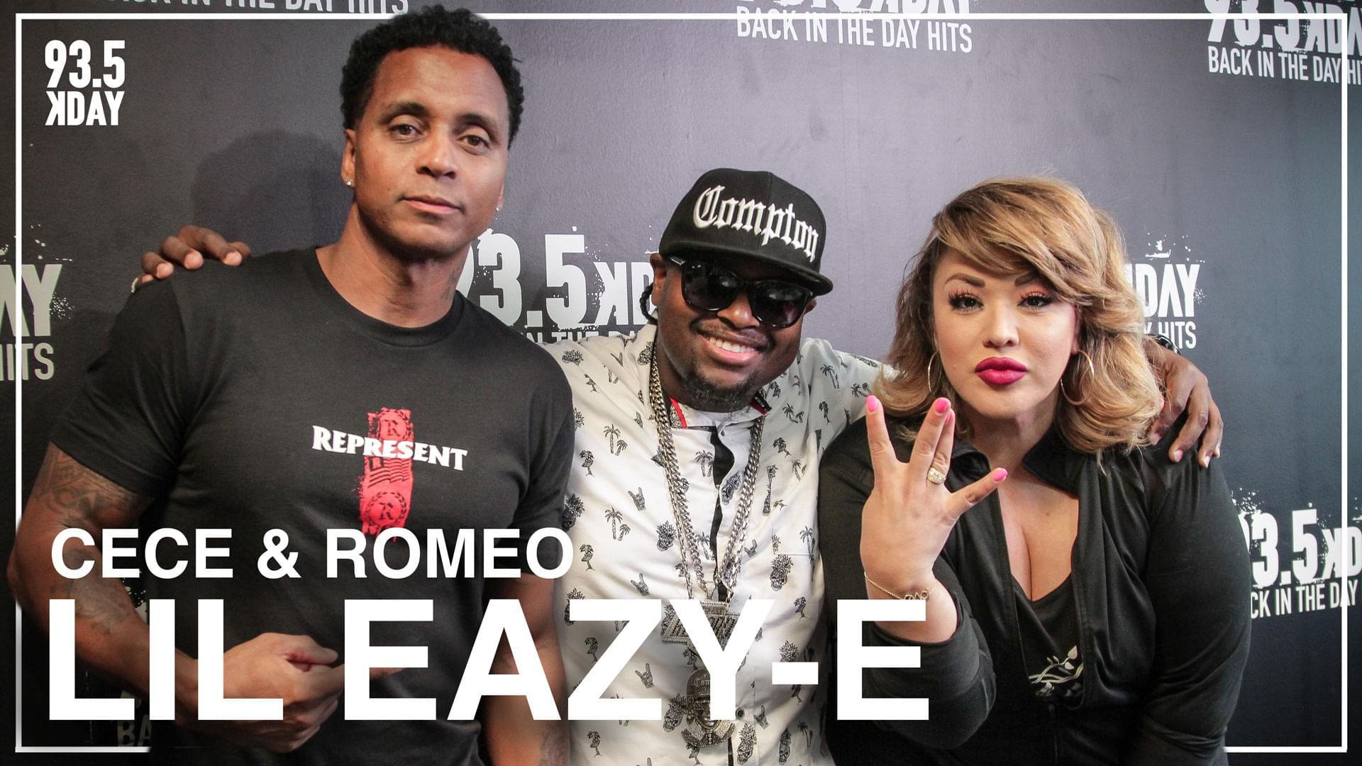 Lil Eazy-E On Pressure To Uphold Eazy E's Legacy w/ New Tombstone Unveiling + Growing Up Hip Hop