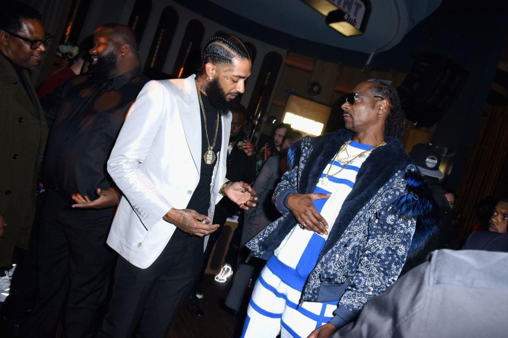 "[WATCH]: Snoop Dogg Says Jay Z ""Really Loved"" Nipsey Hussle"