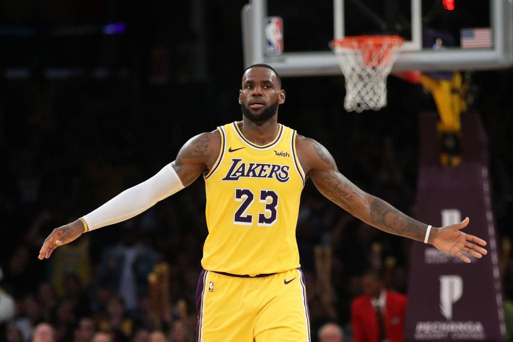 LeBron James' High School Jersey Set To Auction For $300K