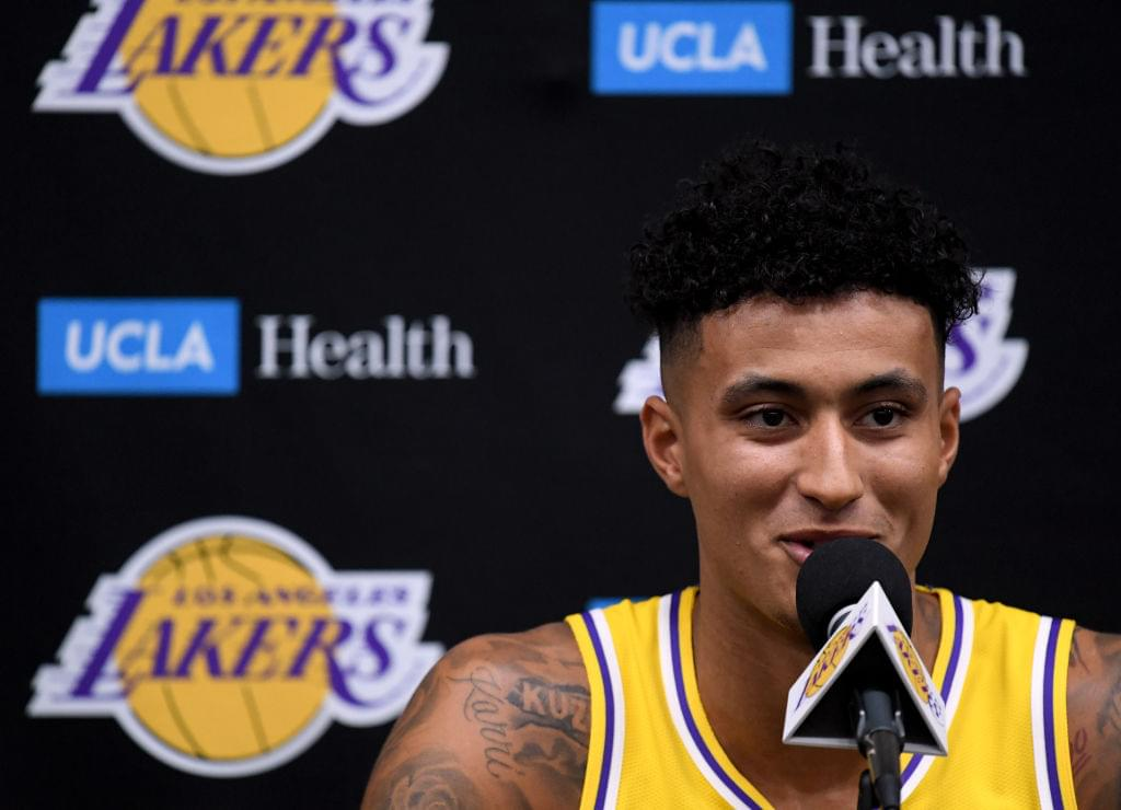 Lakers' Kyle Kuzma Signs Five-Year Sneaker Deal With Puma