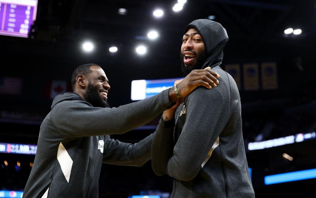 "LeBron James Shares Difference Between Anthony Davis & Miami Heat ""Big 3"""