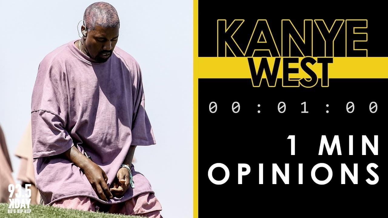 KDAY Hosts Share Their '1 Minute Opinions' On Kanye West
