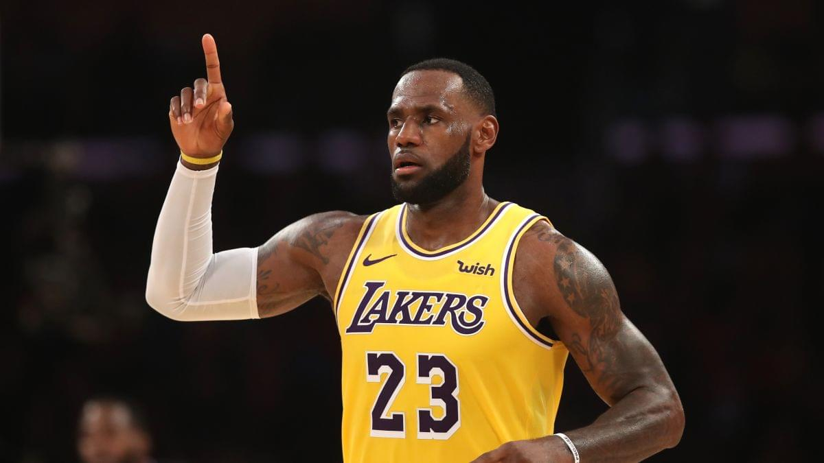 LeBron James Sends Taco Truck To Feed First Responders Helping Combat Getty Fire