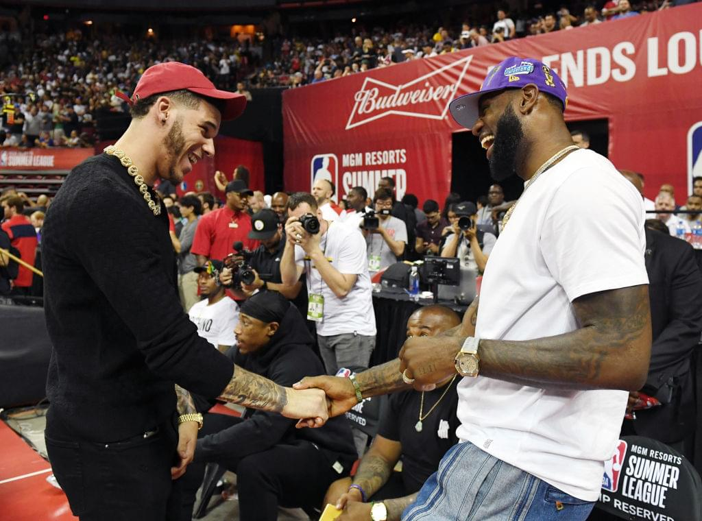 Lonzo Ball Says LeBron James is One of the Hardest Players To Compete Against