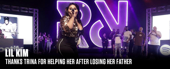 Lil Kim Thanks Trina For Helping Her After Losing Her Father
