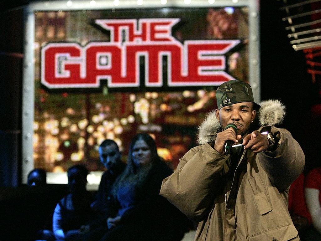"The Game Promotes Upcoming ""Born 2 Rap"" Album With Condoms"