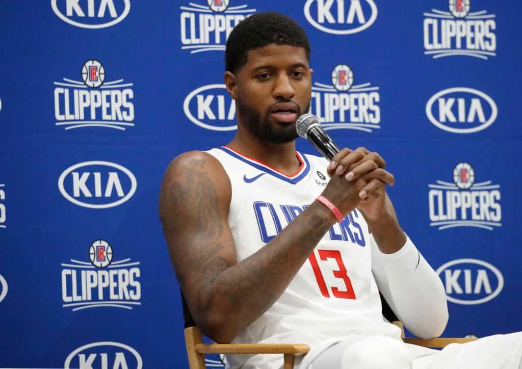Los Angeles Clippers Announce Date For Paul George's Season Debut