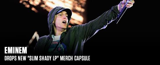 "Eminem Drops New ""Slim Shady LP"" Merch Capsule"