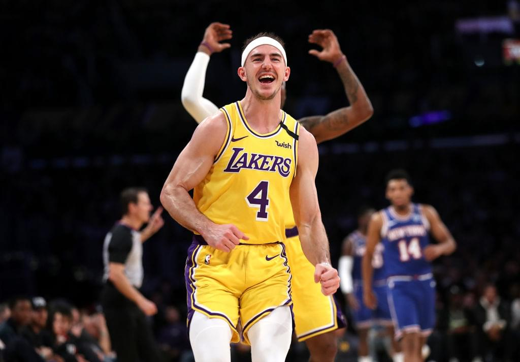 Alex Caruso Reacts To Being Fourth In NBA All-Star Voting