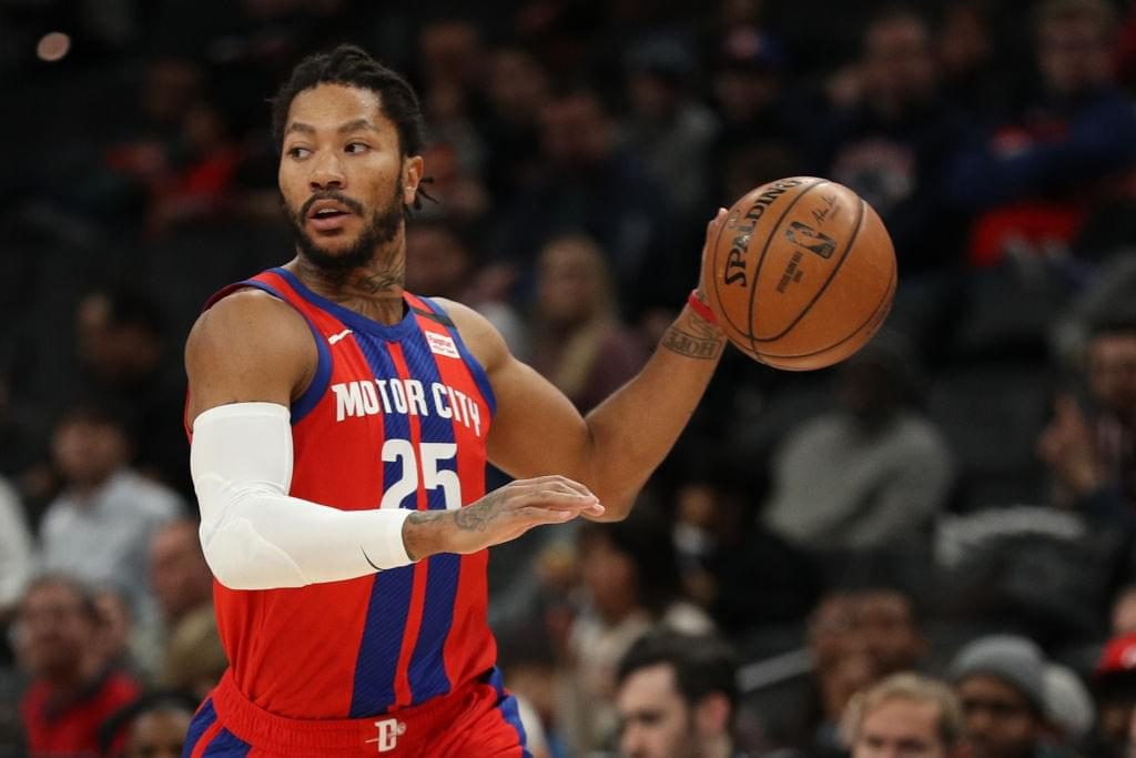 Lakers Reportedly Interested In Trading For Derrick Rose