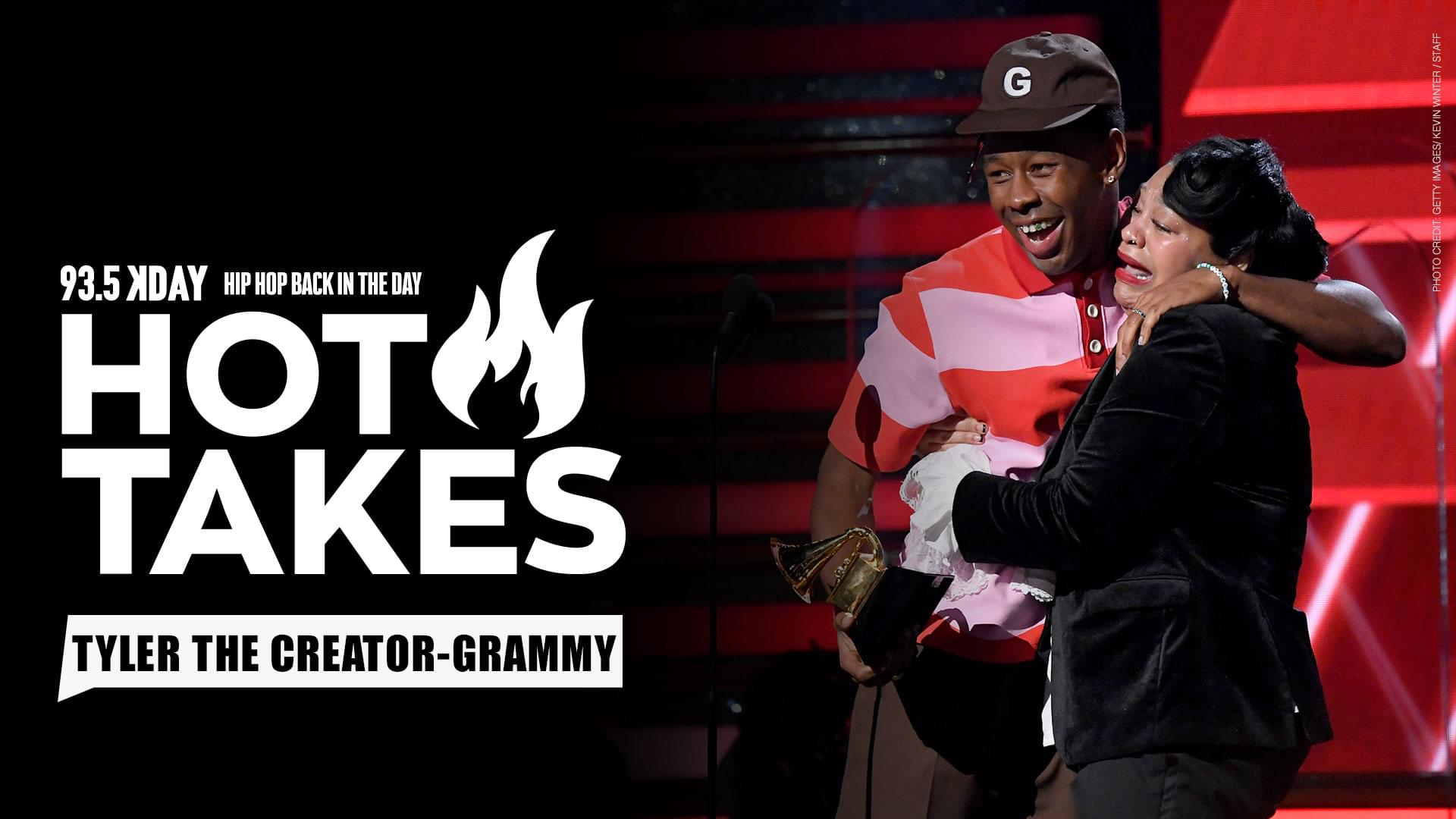 "#HotTakes: Tyler, The Creator Talks Dislike For The Word ""Urban"" During Grammy Speech"