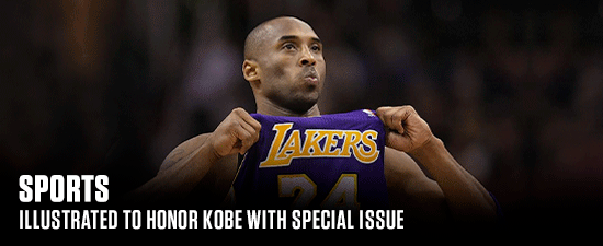 Sports Illustrated To Honor Kobe With Special Issue