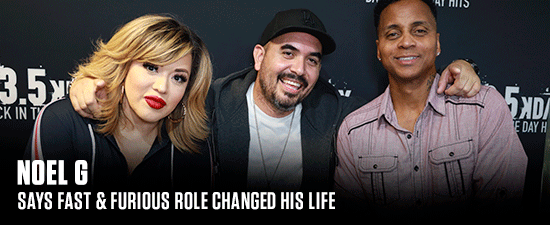 Noel G Says Acting Saved Him From The Streets & Fast & Furious Role Changed His Life